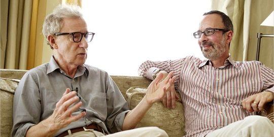 Woody Allen and Robert Weide