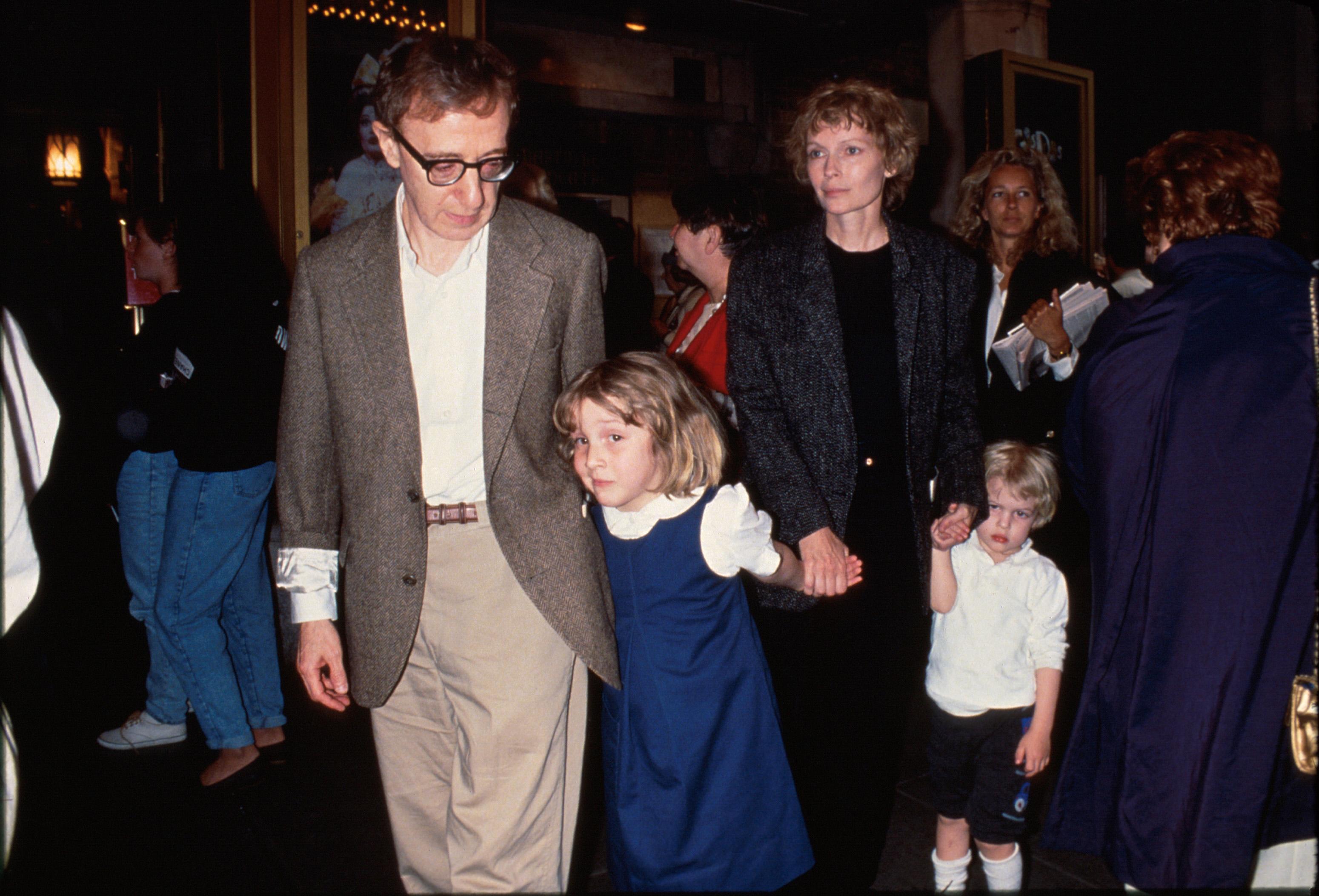Woody Allen, Dylan Farrow, Mia Farrow, Ronan Farrow