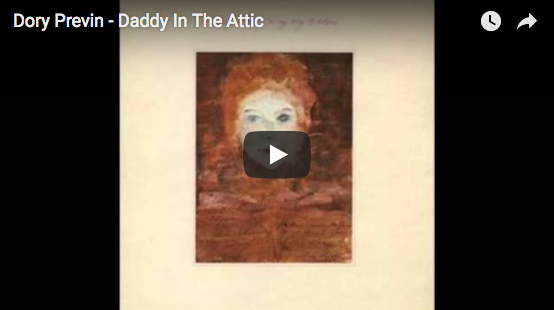 Dylan Farrow: did the attic idea came from a Dory Previn's song ?