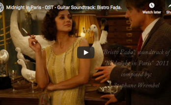"Midnight in Paris, Stephane Wrembel's music ""Bistro Fada"""