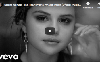 "Selena Gomez's signs ""The Heart Wants What It Wants"""