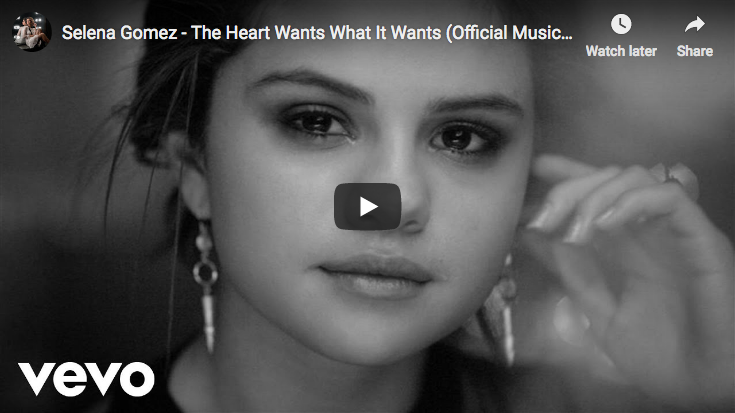 Selena Gomez - The Heart Wants What It Wants - Official Video
