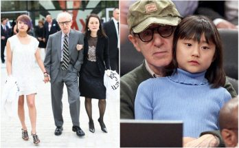 Woody Allen and Soon-Yi Previn with their daughter Bechet