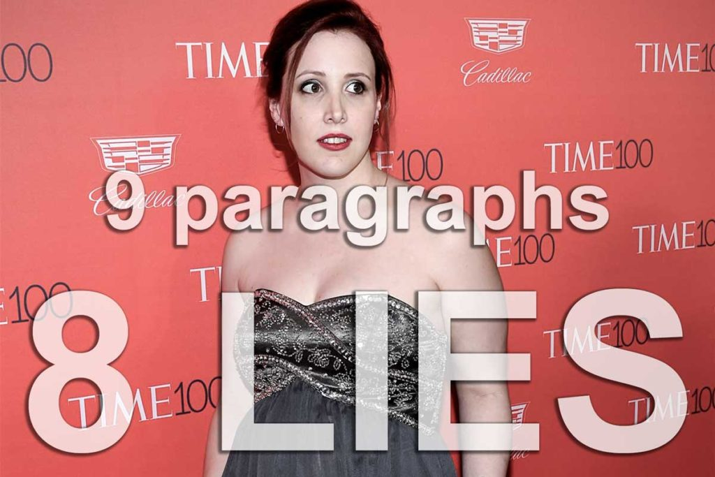 Dylan Farrow - 8 lies in 9 paragraphs