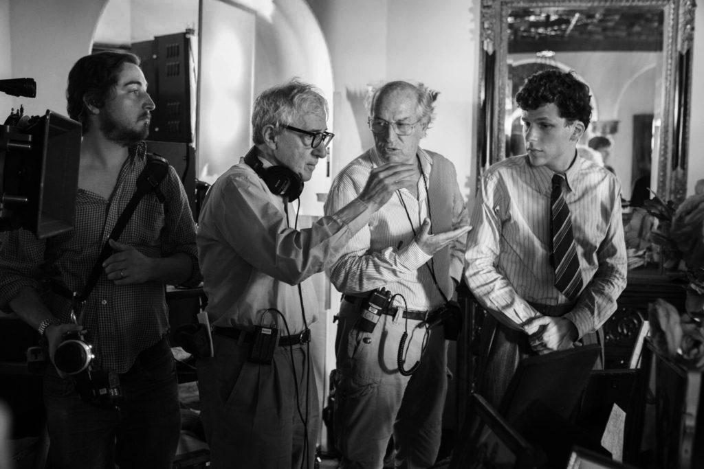 Woody Allen, Vittorio Storaro, Jesse Eisenberg