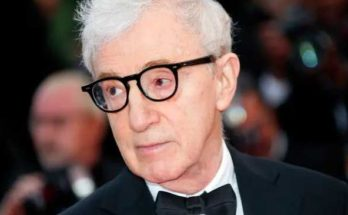 Woody Allen at Cannes film festival.