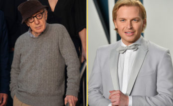 Woody Allen and Ronan Farrow