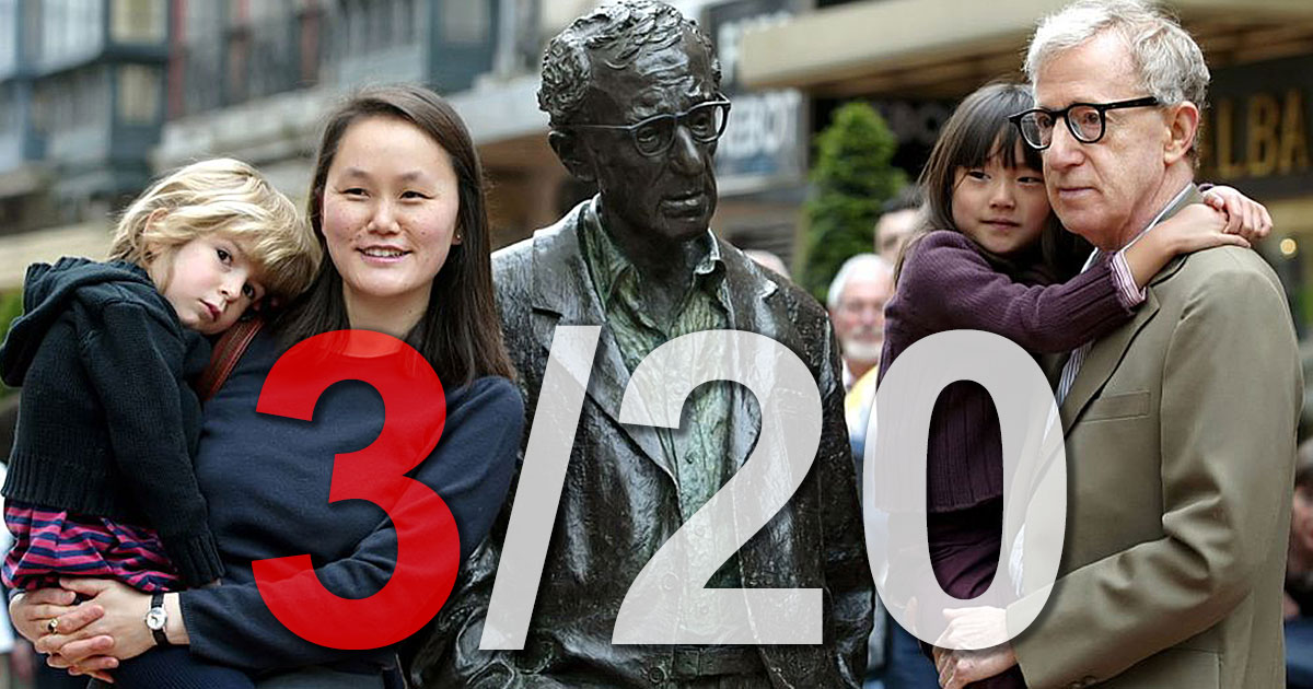 Fact 3 - Woody Allen 20 Undeniable Facts