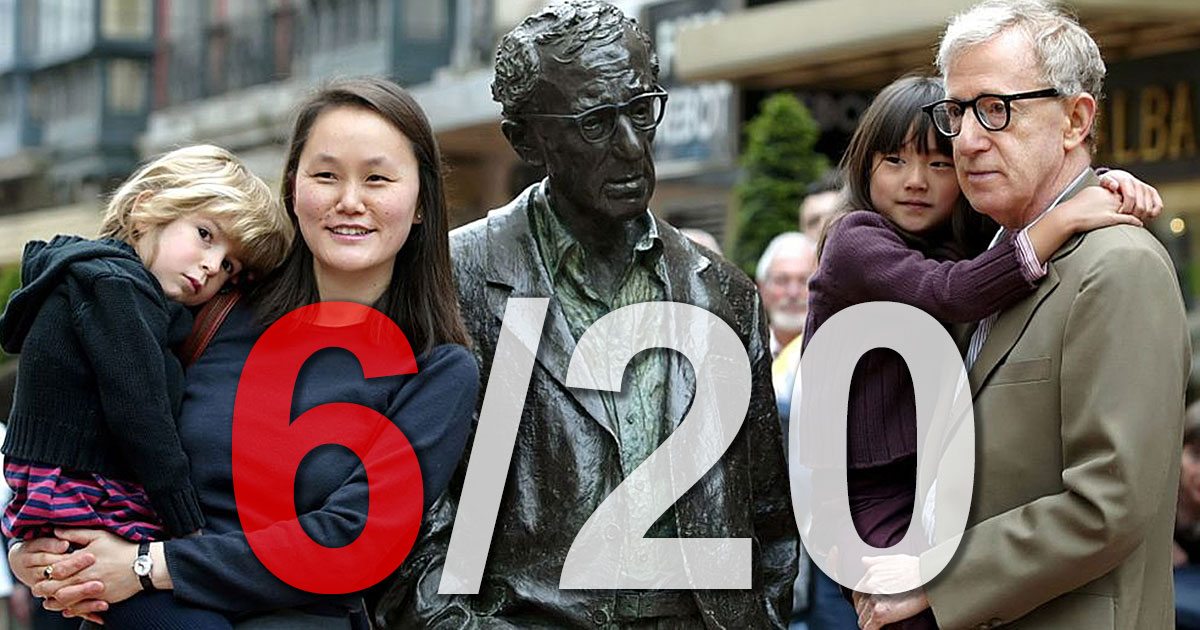 Fact 6 - Woody Allen 20 Undeniable Facts
