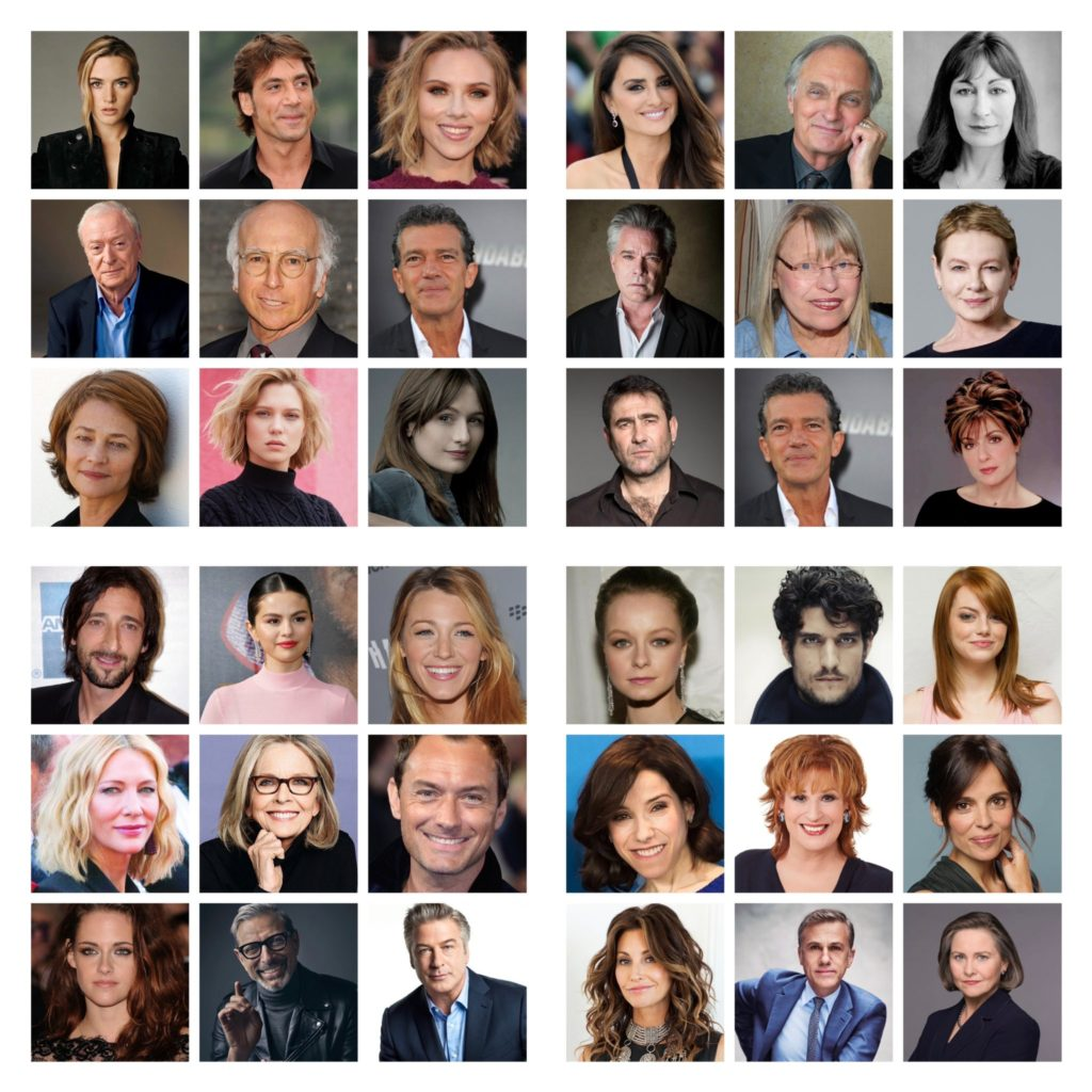 Many actors are supporting Woody Allen or are not afraid to work with him.