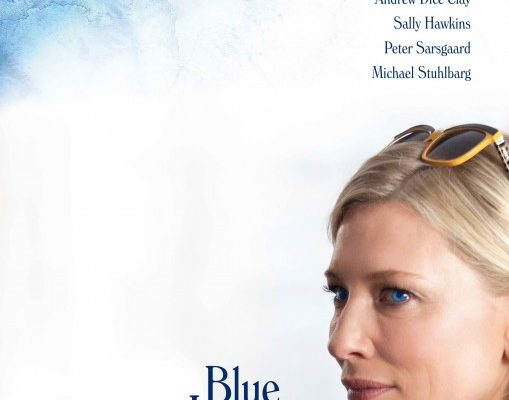 Blue Jasmine is a 2013 American black comedy-drama film written and directed by Woody Allen. and starring Cate Blanchet, Alec Baldwin, Sally Hawkins, Bobby Cannavale, Andrew Dice Clay.