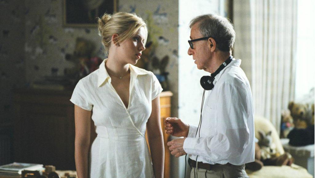 Scarlett Johansson and Woody Allen - Match Point