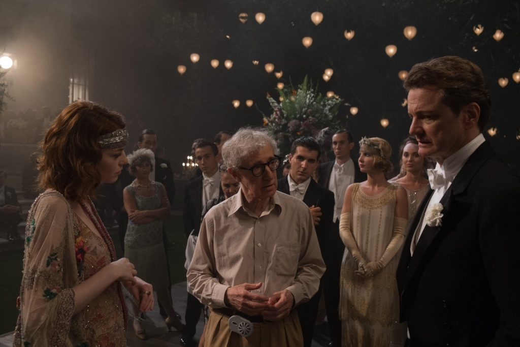 Emma Stone, Woody Allen, Colin Firth - Magic In The Moonlight