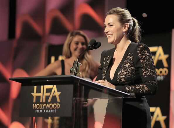 """Kate Winslet wins Hollywood Film Award for her role as Ginny in Woody Allen's movie """"Wonder Wheel""""."""