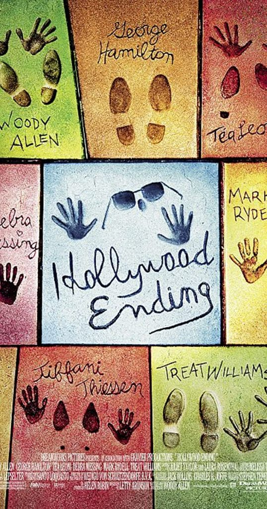 Woody Allen's Hollywood Ending movie poster.