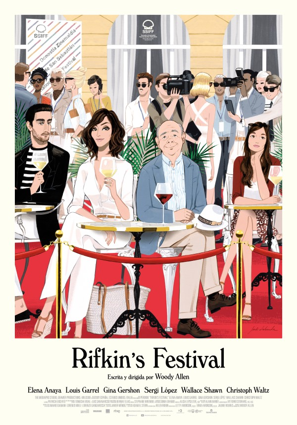 Rifkin's Festival is an American-Spanish-Italian comedy film, written and directed by Woody Allen.