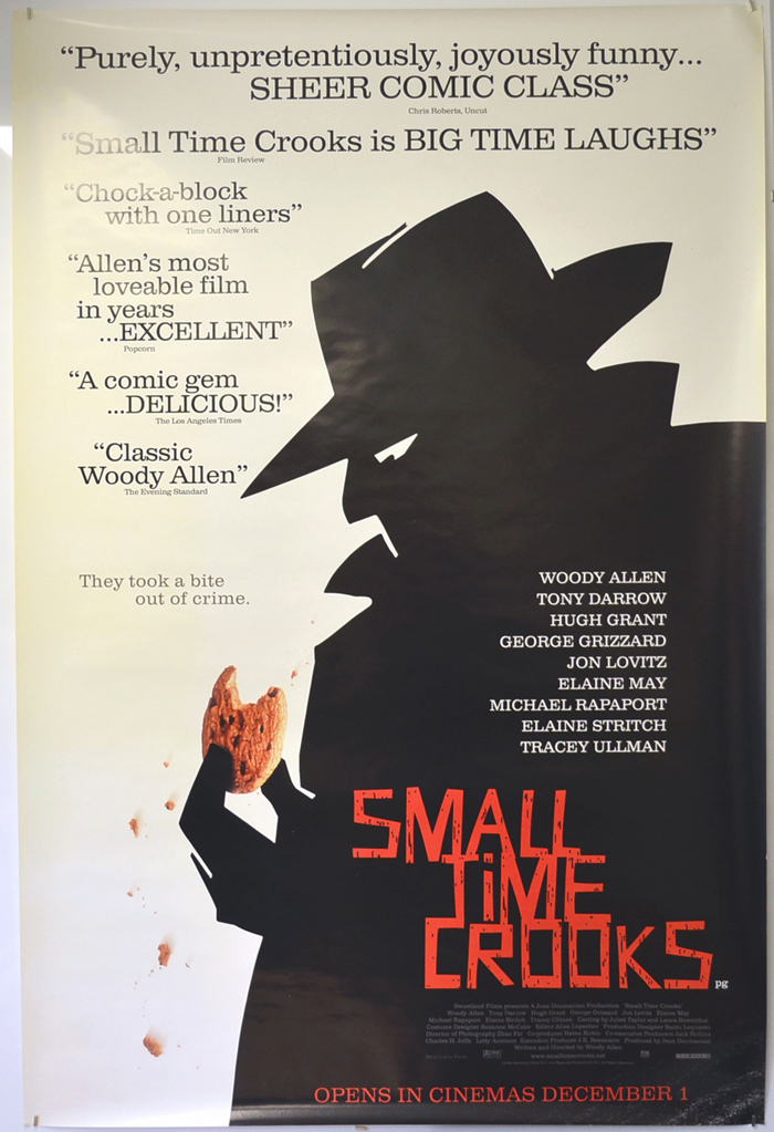 "Poster for Woody Allen's movie ""Small Times Crook"""