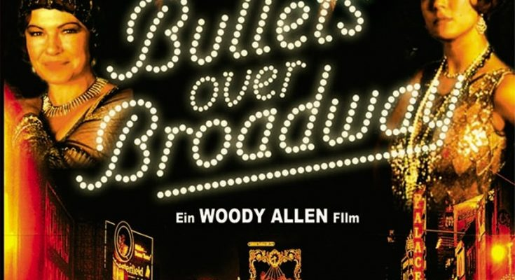 Poster for Woody Allen's Movie Bullets Over Broadway