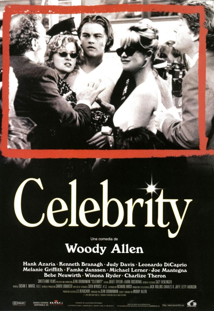 Poster for Woody Allen's movie Celebrity