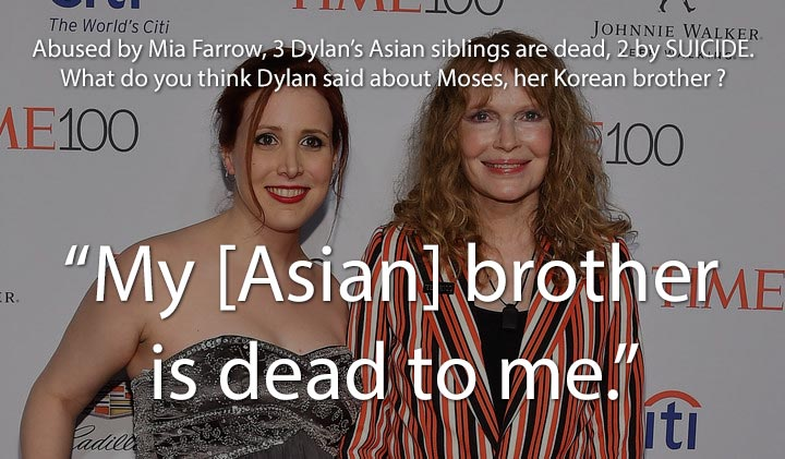 Three Dylan Farro's Asian siblings are dead, two took their own life.