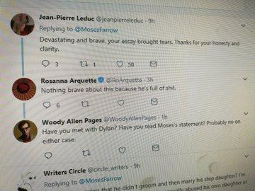 Rosanna Arquette insults Moses Farrow