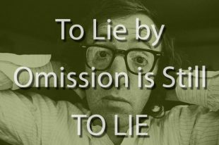 Woody Allen & Dylan Farrow: to Lie by Omission is Still to Lie