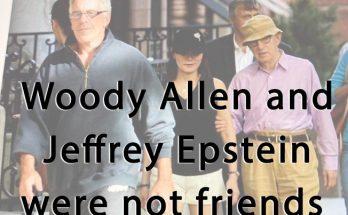 Jeffrey Epstein - Soon-Yi Previn - Woody Allen